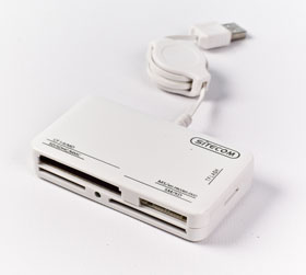 Sitecom 63-in-1 Memory Card Reader