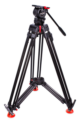 Sachtler SOOM Tripod System with Cine DSLR Fluid Head